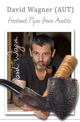 David Wagner Freehand Pipes from Austria