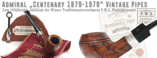 Admiral Centenary Vintage Pipe
