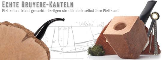 Bruyere Bl�cke f�r den Pfeifen-Eigenbau / Briar Blocks for pipe making itself