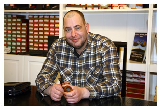 picture: Oliver Camphausen im Pfeifenkonsulat