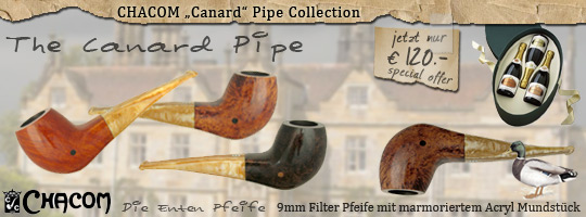 Chacom Canard Pipe made in France