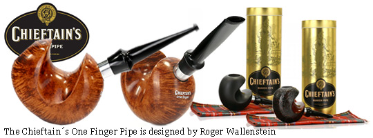 Chieftain´s One Finger Pipe by Roger Wallenstein