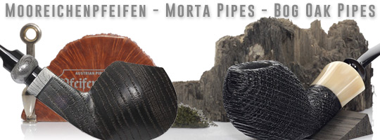 Mooreichenpfeifen - Morta Pipes - Bog Oak Pipes