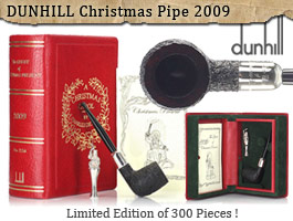 Dunhill Christmas Pipe 2009