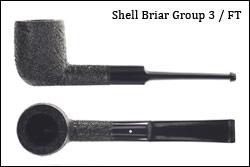 "Dunhill ""White Spot"" Combo Set Shell Briar"