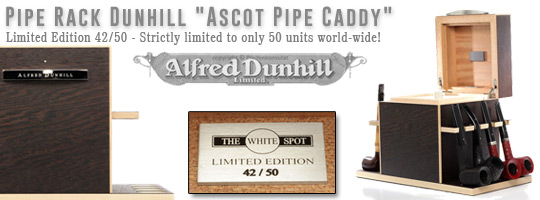 Pipe Rack Dunhill - Ascot Pipe Caddy - Limited Edition 42/50 - Strictly limited to only 50 units world-wide!