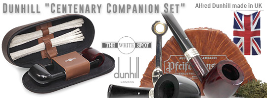 Dunhill The White Spot Centenary Companion Set, made 2012, smooth, woF. - Limited Edition - 64 of 100