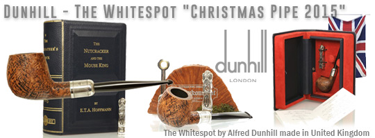 Alfred Dunhill The White Spot Christmas Pipe 2015