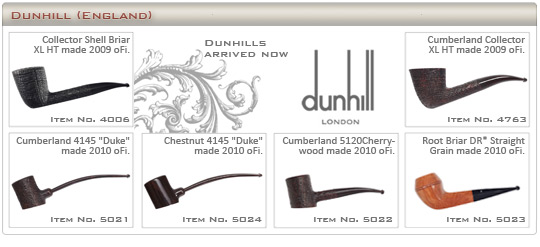 Dunhill neu eingelangt