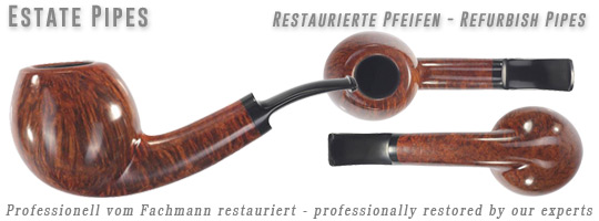 Estate Pipes - professionell vom Fachmann restauriert