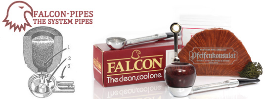 Falcon Pipes @ Pfeifenkonsulat
