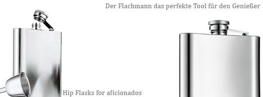 Flachmänner, Flachmann, hip flask