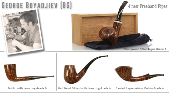 George Boyadjiev Freehand Pipes