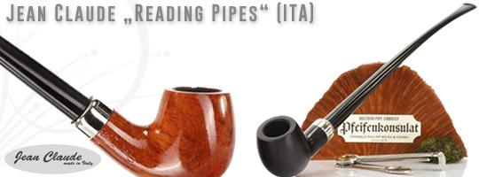 Jean Claude Reeading Pipes / Lesepfeifen