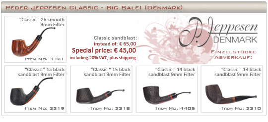Peder Jeppesen Classic - BIG SALE!
