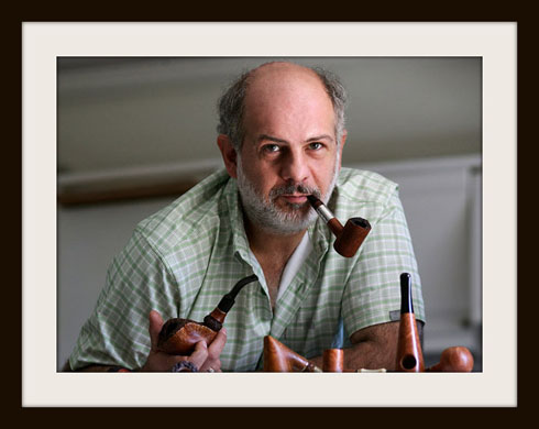 Photo: Kostas Gourvelos Pipemaker from Greece, copyright by Pfeifenkonsulat.at