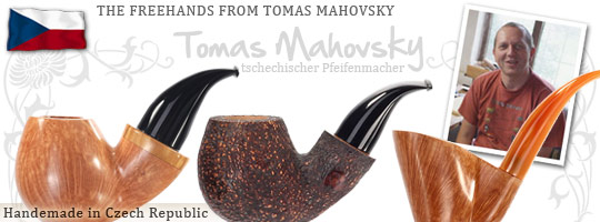 Freehand Pipes from Tomas Mahovsky