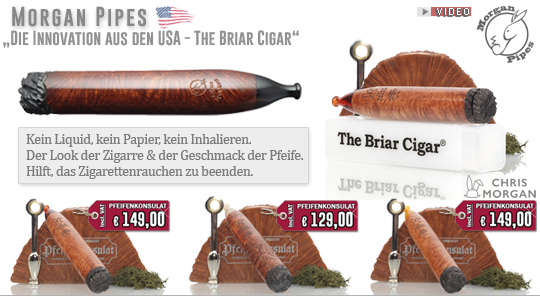 Die Innovation aus den USA - The Chris Morgan Briar Cigar