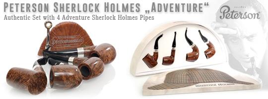 Peterson Sherlock Holmes Adventure Set