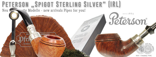 Peterson Spigot Sterling Silver