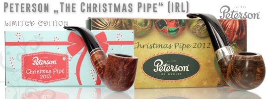 Peterson Christmas Pipes from the past