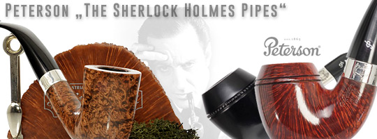 The Original Peterson Sherlock Holmes Pipes by Pfeifenkonsulat