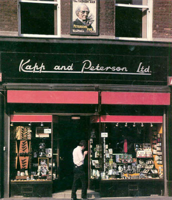 picture: PetersonShop Front anno 1989, 117 Grafton Street