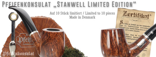 Pfeifenkonsulat Stanwell Limited Edition Pipes