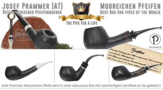 Gr��te Auswahl an Josef Prammer Mooreichen Pfeifen