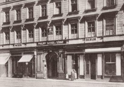Headquarter Philipp Weiss & Söhne 1879 - zur Vintage Ware