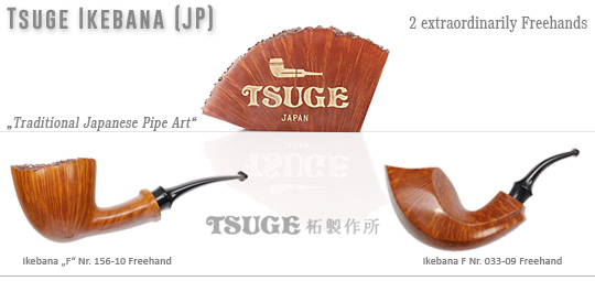 2 new extraordinarily Tsuge Ikebana Freehands