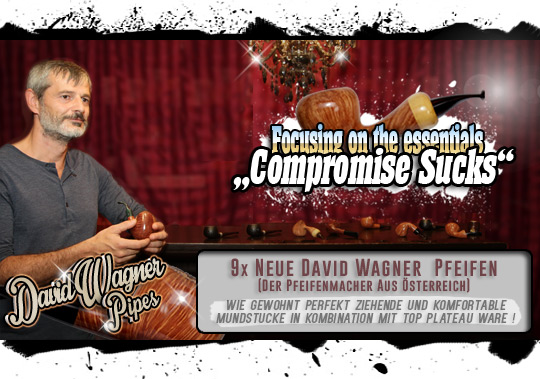 David Wagner Special - Focusing on the essentials - 9 fresh Pipes by David Wagner (Austria)