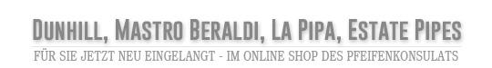 F�r Sie jetzt neu eingelangt - im Online Shop des Pfeifenkonsulats