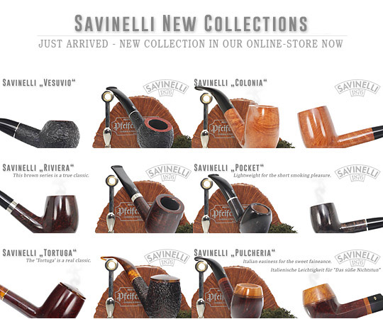 Savinelli - new Collections