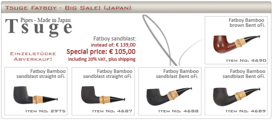 Tsuge Fatboy Bamboo - BIG SALE!