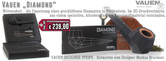 Vauen Diamond Designer Pipe