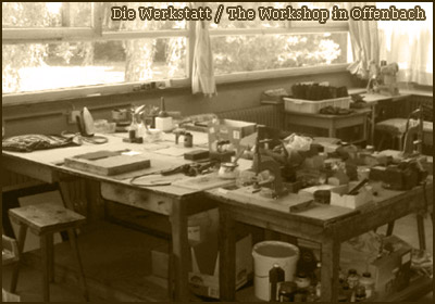 picture: Wess Design, die Werkstatt / The Workshop in Offenbach