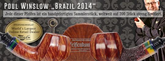 Poul Winslow Brazil 2014 Limted Edition