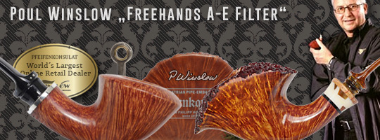 Poul Winslow Freehand Filter Pipes