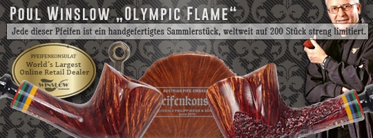 Poul Winslow Olympic Flame Limted Edition