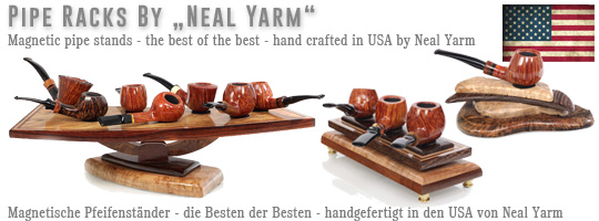Neal Yarm Pipe Stands hand made in the USA - The Best of the Best