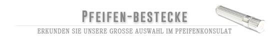 Gro�e Auswahl an Pfeifenbestecken und Pfeifenstopfer im Pfeifenkonsulat